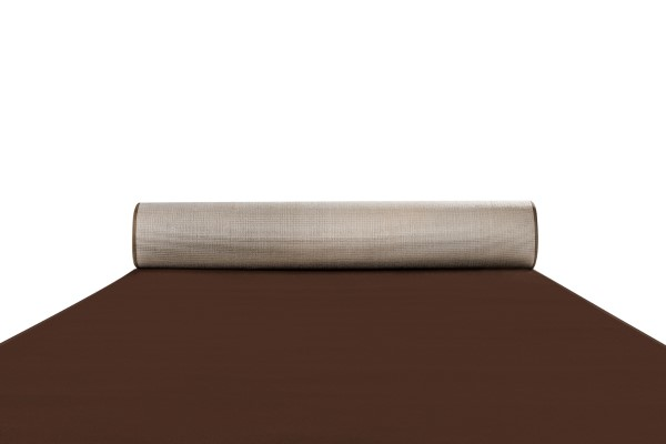 Chocolate brown Black Tie carpet runner