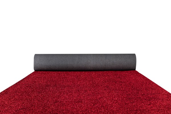 Red diamond carpet runner