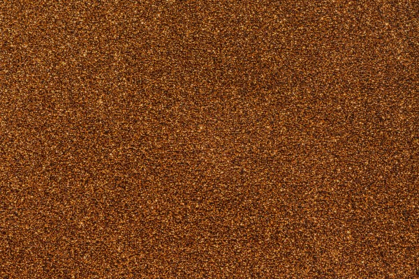 Diamond copper carpet swatch