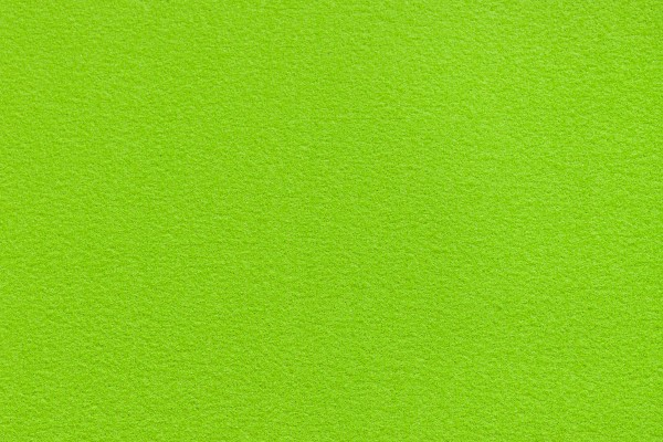 Lime green event carpet swatch