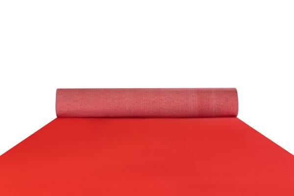Red event carpet runner