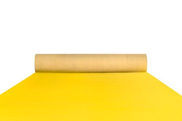 Yellow event carpet runner