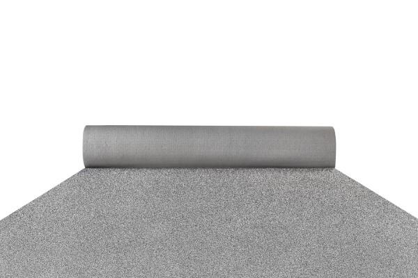 Glitter slate silver carpet runner