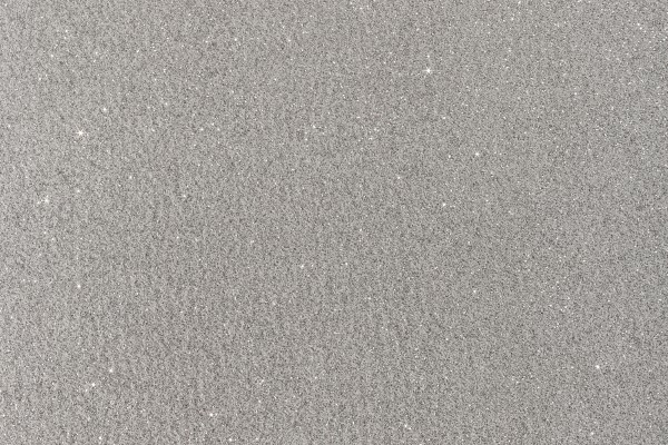 Glitter slate silver carpet swatch