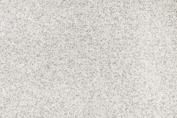Glitter carpet swatch with silver sparkles on a white background