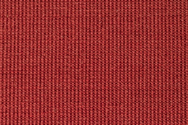 Swatch of Naturals sisal carpet in colour ruby