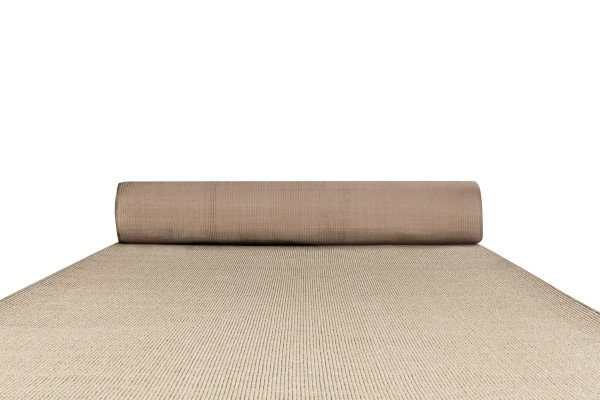 Naturals sisal carpet runner in colour silver birch
