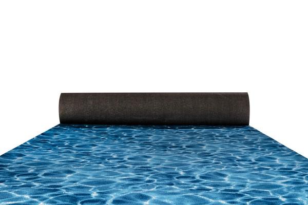 Prestige water pattern carpet runner