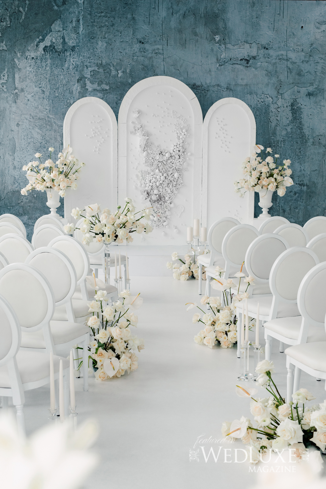 Event Carpet in Chalk for Wedluxe Photo Shoot