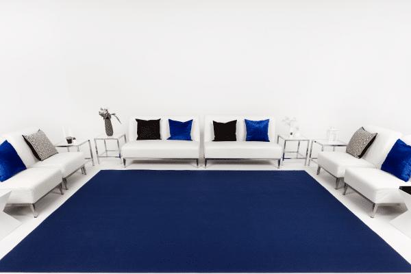 Navy Event Carpet Installation